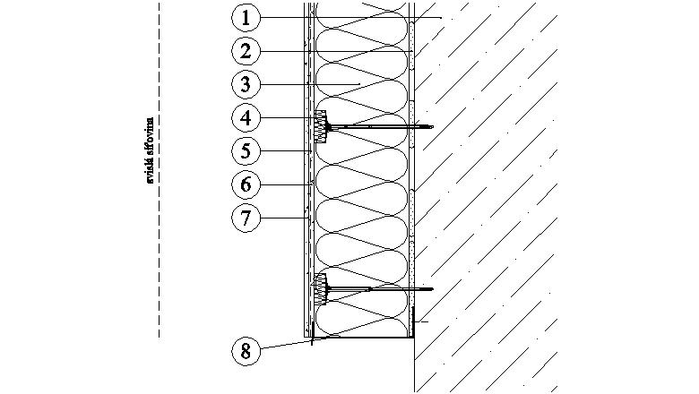 ETICS Weber therm plus ultra - detail založení PKO-17-018