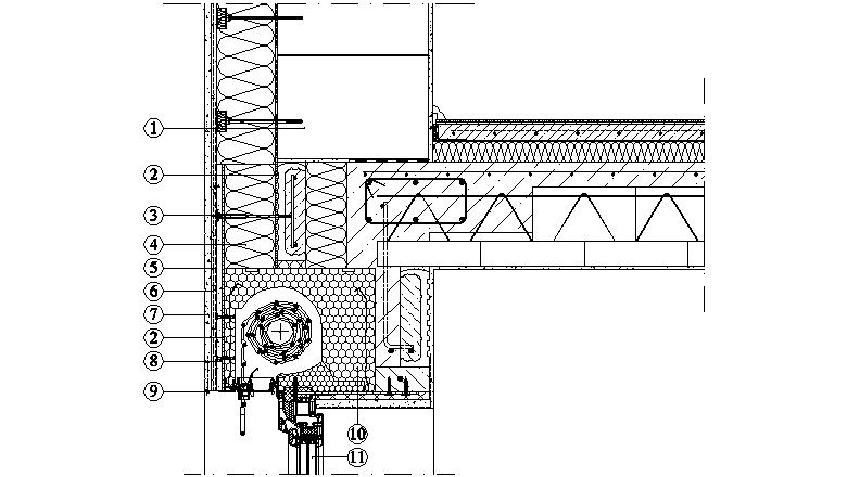 ETICS Weber therm - napojení na konstrukci roletové schránky