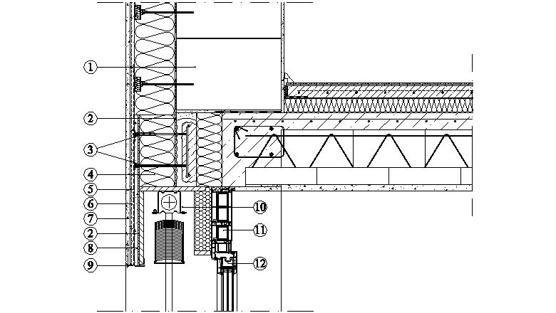 ETICS Weber therm - napojení na konstrukci žaluziové schránky