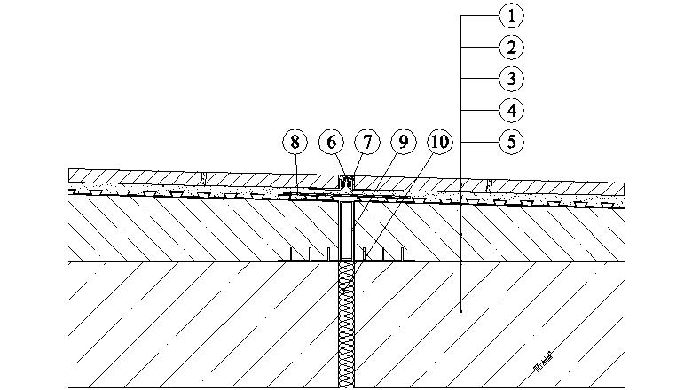 Balkony a lodžie Weber Terranova - dilatace - s použitím dilatačních profilů