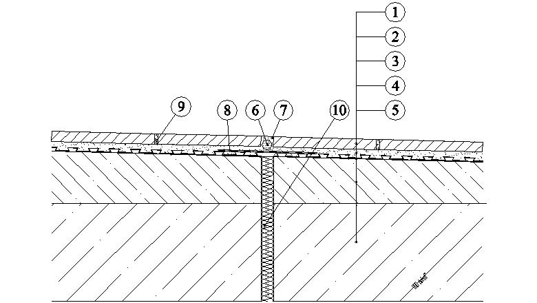 Balkony a lodžie Weber Terranova - dilatace