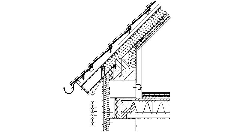 ETICS Weber therm - napojení zateplovacího systému na konstrukci neodvětrané střechy