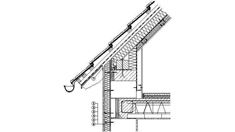 ETICS Weber therm - napojení zateplovacího systému na konstrukci odvětrané střechy